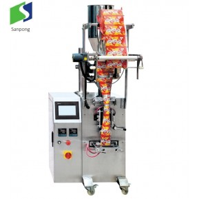 Vertical packaging machine for sugar
