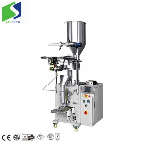 Vertical packing machine with small bag