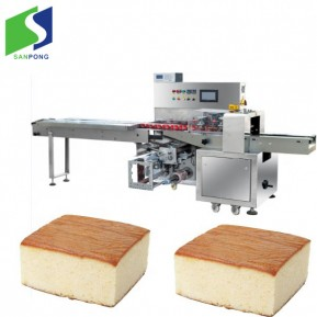 Pillow bag packing machine for bread