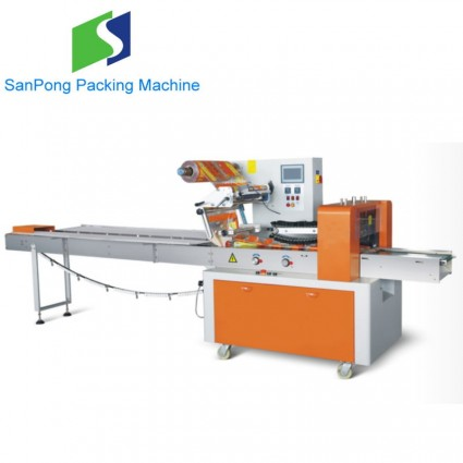 SP-600B pillow packing machine for food packaging