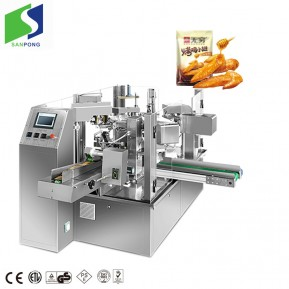 Premade pounch bag packing machine for snacks