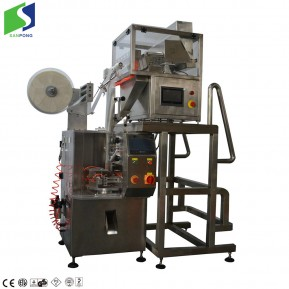 Vertical triangle packing machine