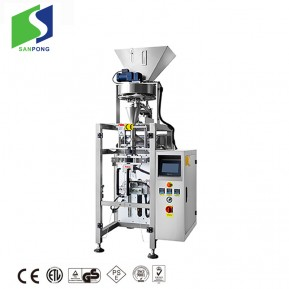 High-speed vacuuming vertical granular packing machine