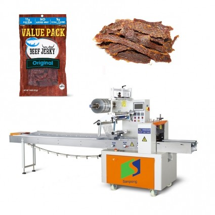 Hot sale in Europe dry food packaging machine for beef jerky