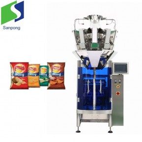 Guangzhou Sanpong sachet packing and filling machine for pet food