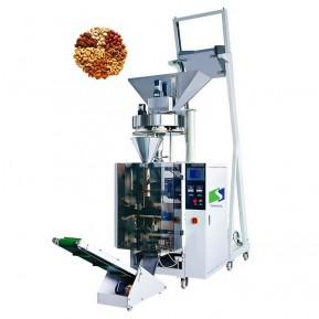 Max 420 film width bag filling sealing machines for popcorn/bag packing line
