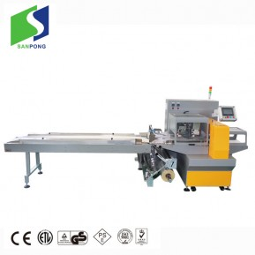Automatic induction pillow pouch packing machine