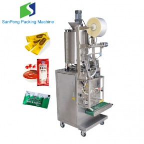 Automatic liquid pasta sauce small pouch packing machine
