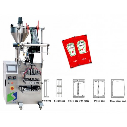Automatic Pouch Sachet Pure Water Liquid Milk Packing Machine