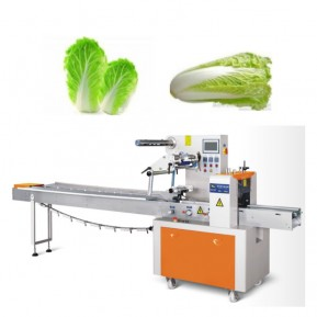 Factory Horizontal Pillow Fruit Vegetable Packaging Machine