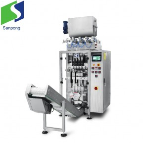 Honey liquid packing machine multi-lanes VFFS packaging machine