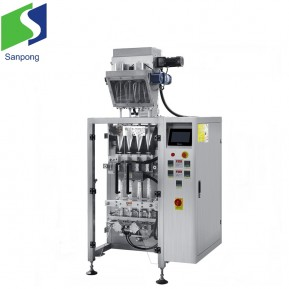High speed wheat flour packaging machine multi-lanes design