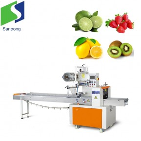 Good service lemon/strawberry/kiwi pillow bag packaging machine