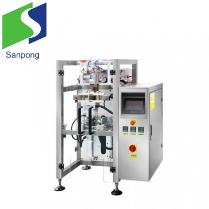 Small snack food bag packaging machine
