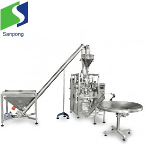 Pouch packing machine  for powder