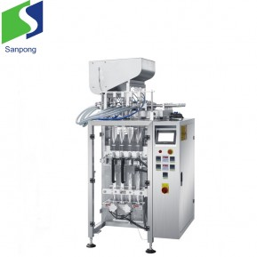Coffee packaging multi-lanes design machine