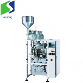 Automatic Vertical Pouch packaging machine for shampoo/ oil