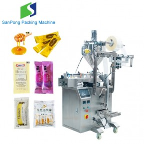 Multi-lanes VFFS packaging machine for potato sauce