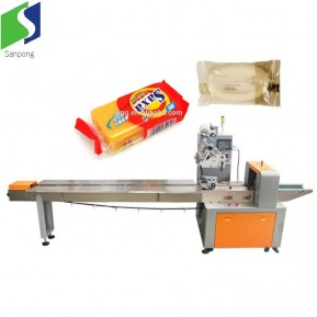 Pillow bag packing machine for cookis