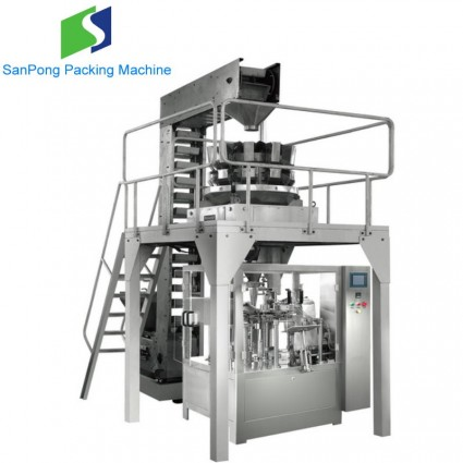 Premade bag packaging machine for Potato chips