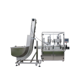 Automatic double-head servo capping machine