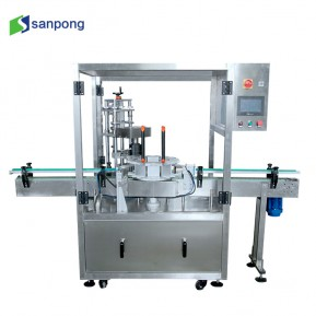 Full automatic 1/2 heads chuck type vacuum capping machine
