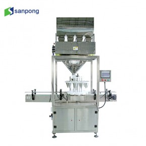 Granule Pepper Coffee Automatic Filling Capping  Machine for Glass Jar